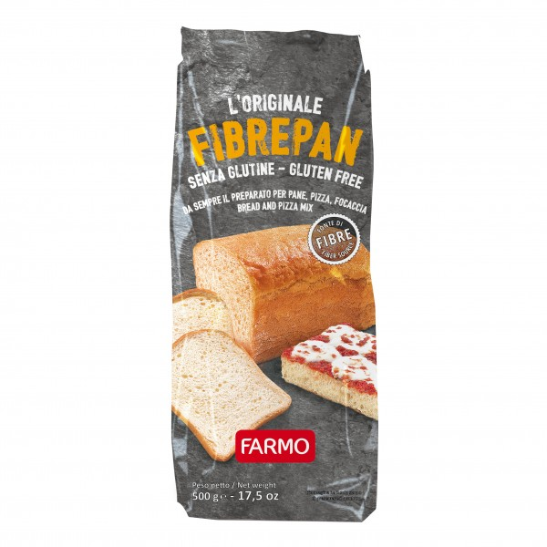 FARMO Fibrepan Farina S/G 500g