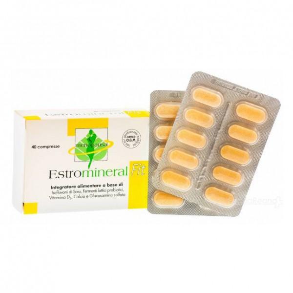 Estromineral Fit - Integratore per donne in menopausa - 40 compresse