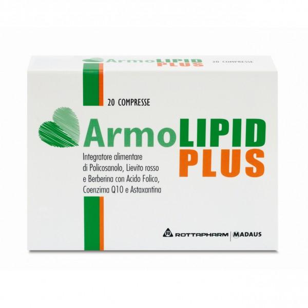 ArmoLIPID PLUS - Integratore alimentare per il controllo del colesterolo - 20 compresse