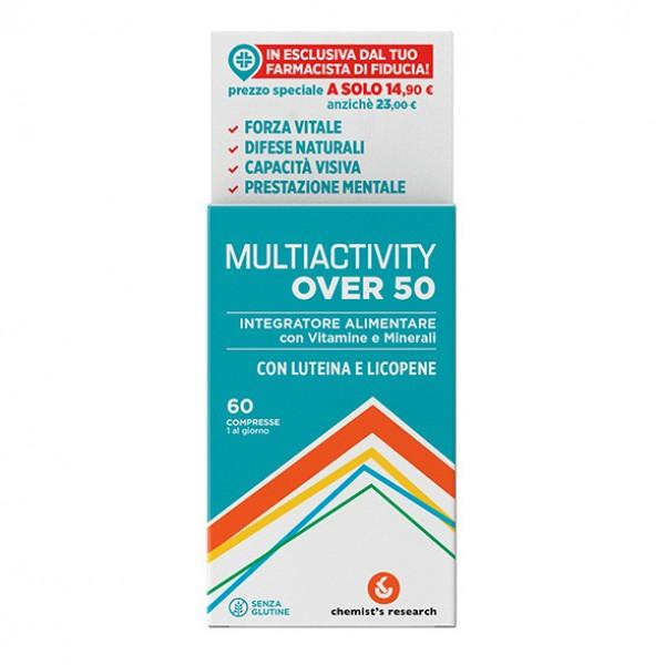 MULTIACTIVITY Over 50+ 60 Compresse