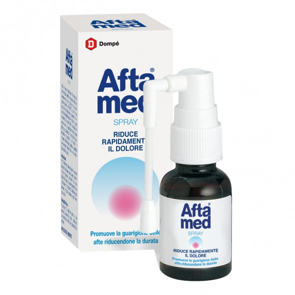 Aftamed Spray Orale Lenitivo Calmante An...