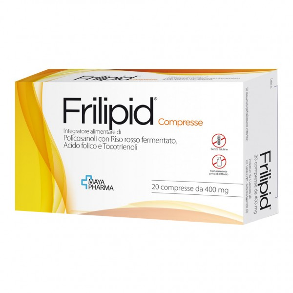 FRILIPID 400mg 20 Compresse