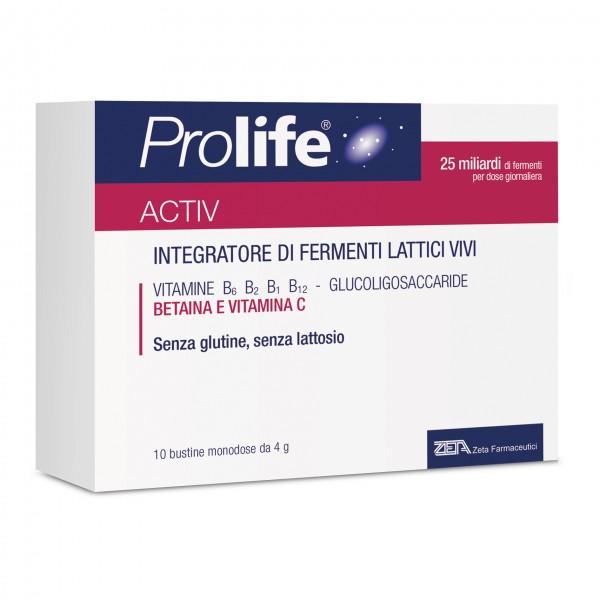 Prolife Activ - Integratore a base di fermenti lattici vivi - 10 bustine