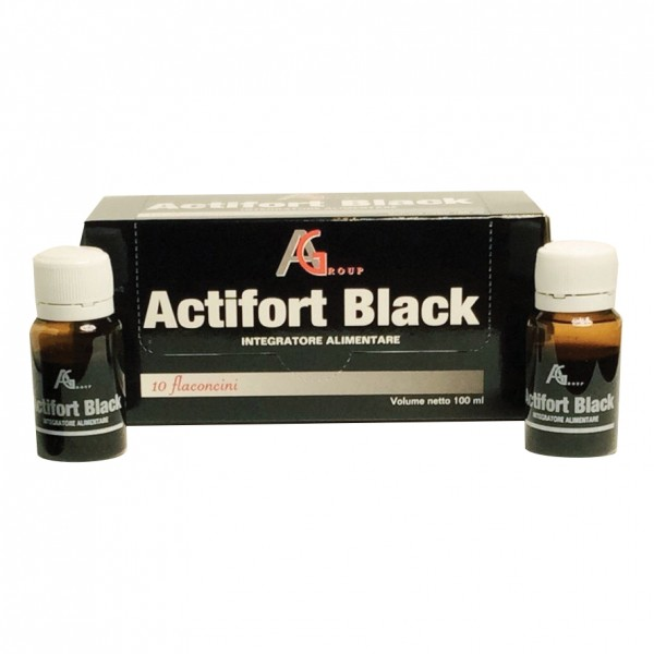 ACTIFORT BLACK 10fl.10ml