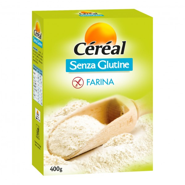 CEREAL Farina S/G 400g