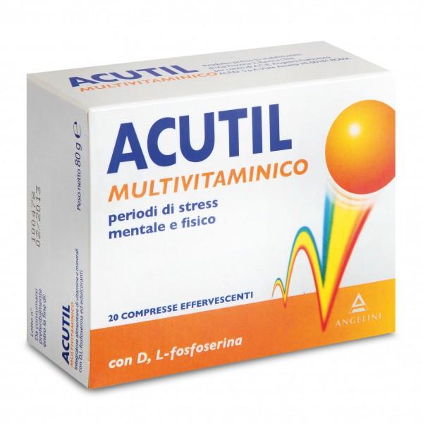 Acutil Multivitaminico 20 Compresse Effe...