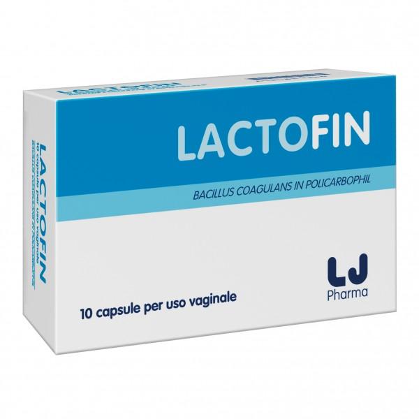 LACTOFIN 10 Capsule Vaginali