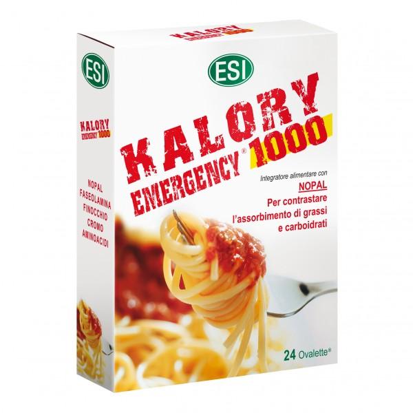Kalory Emergency 1000 - Integratore alimentare per favorire la perdita di peso - 24 ovalette