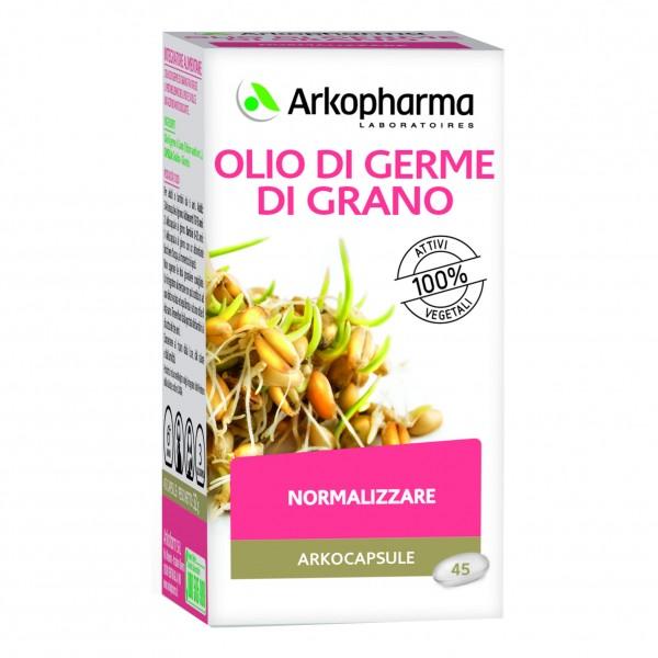 ARKOFLUIDI Olio di Germe di Grano 45 Cap...