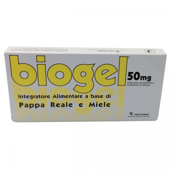 BIOGEL*10 Fl. 50mg