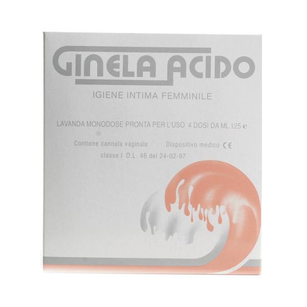 GINELA Acido 4 Dosi