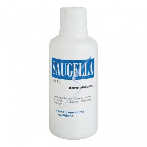 Saugella Dermoliquido Detergente Intimo pH 3,5 500 ml