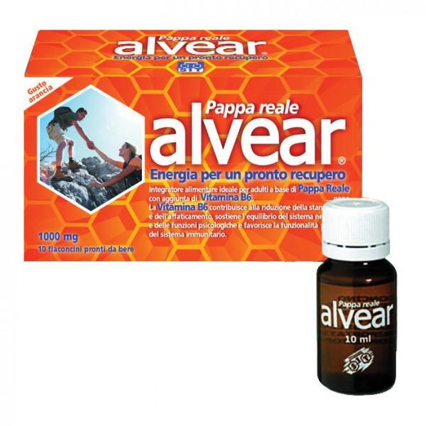 ALVEAR Pappa Reale 1000 mg 10 Flaconcini