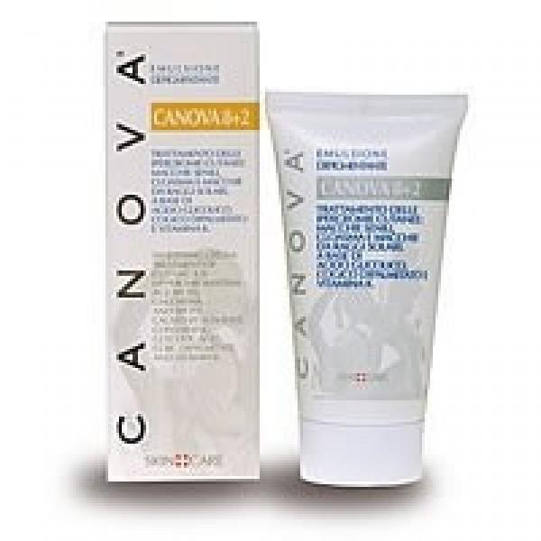 CANOVA Crema Depigmentante 8%+2% Acido Glicolico 50 ml