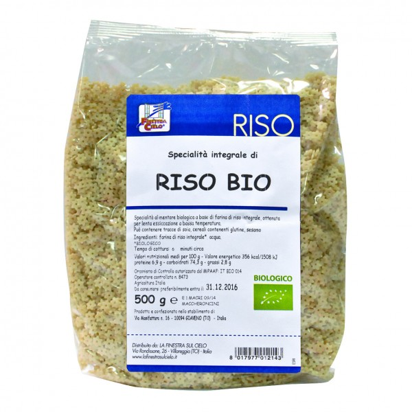 FsC Pasta Riso Stelline 500g