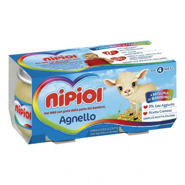 OMO NIPIOL Agnello 2x 80g