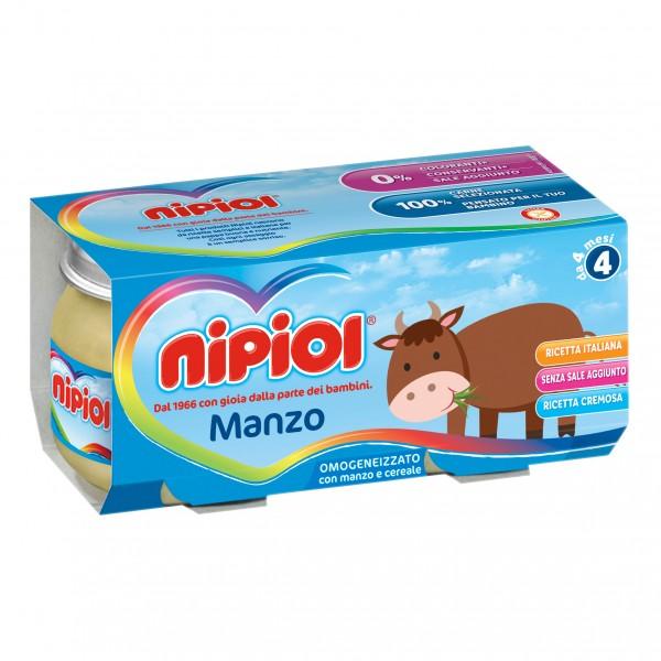 OMO NIPIOL Manzo 2x 80g