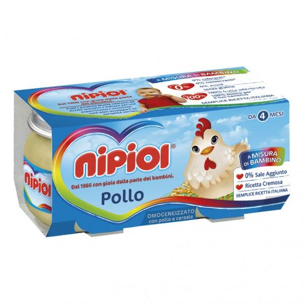 OMO NIPIOL Pollo 2x 80g