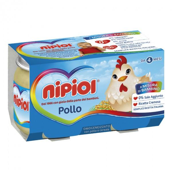 OMO NIPIOL Pollo 2x120g