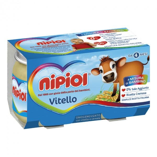 OMO NIPIOL Vitello 2x120g