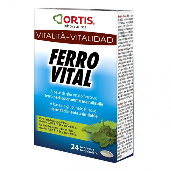 FERRO VITAL PLUS 24 Cpr