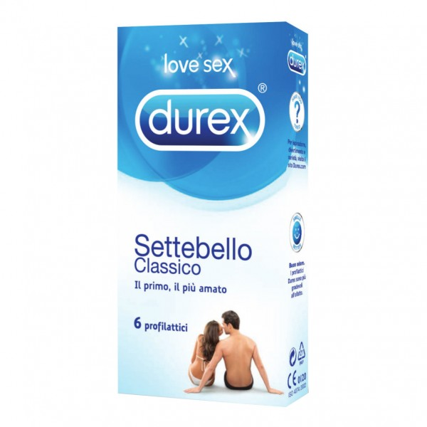 Durex Settebello Classico 6 profilattici