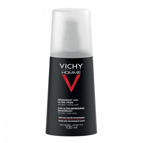 Vichy Deo Homme Linea Uomo Vapo Spray Deodorante Ultra Fresco 100 ml