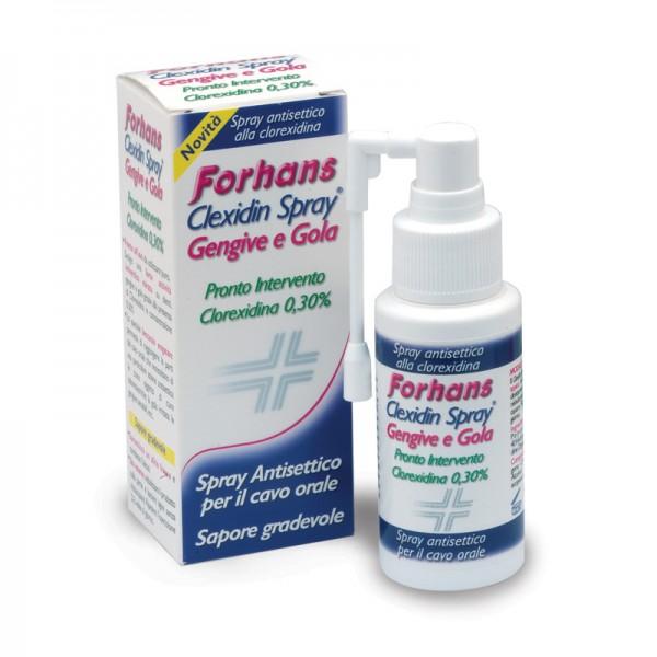 FORHANS Clexidin Spray con Clorexidina 0...