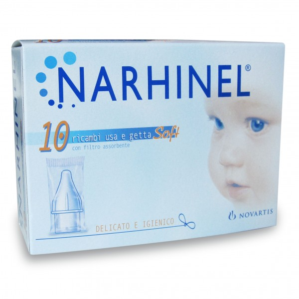 Narhinel 10 Ricambi Soft per Aspiratore ...