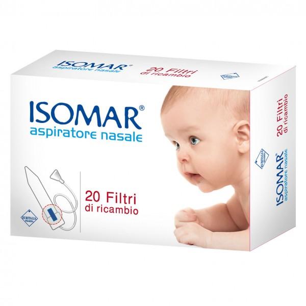 ISOMAR Filtri per Aspiratore Nasale 20 p...