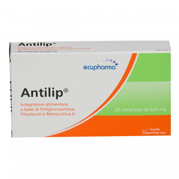 ANTILIP 20 Compresse 630mg