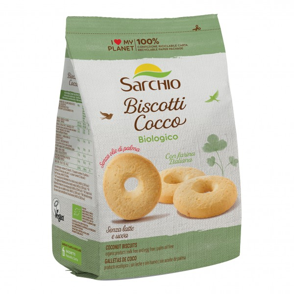 SARCHIO Bisc.Cocco 250g