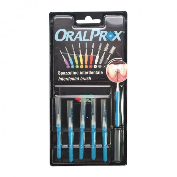 ORALPROX Scovolino 1 Azzurro 6 pezzi
