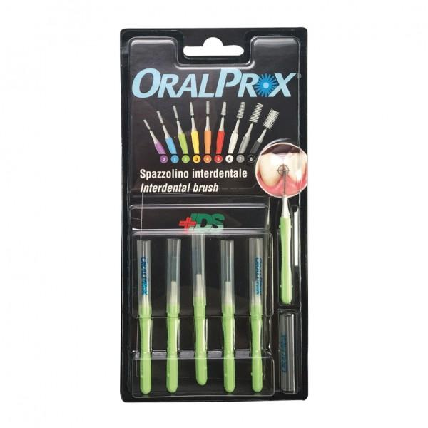 ORALPROX Scovolino 2 Verde 6 pezzi
