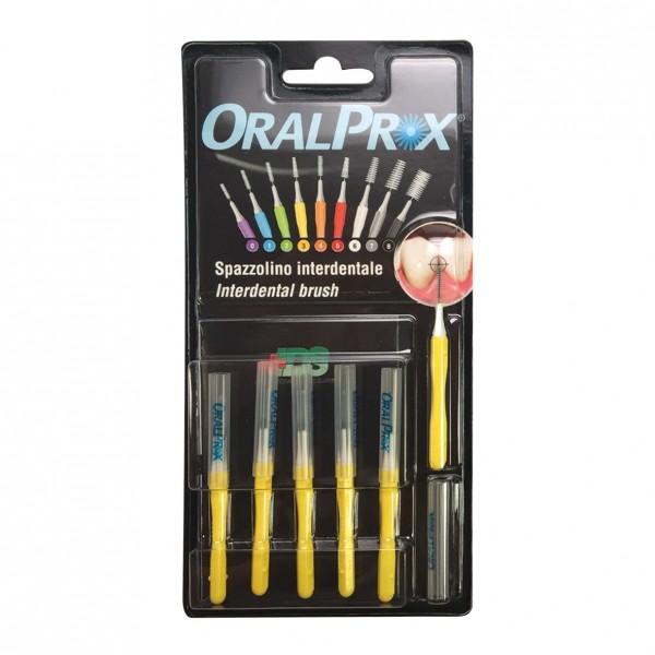 ORALPROX Scovolino 3 Giallo 6 pezzi