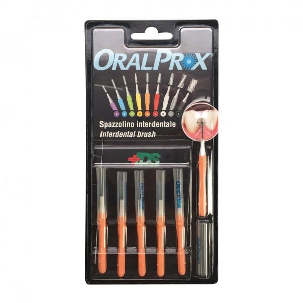 ORALPROX Scovolino 4 Arancione 6 pezzi