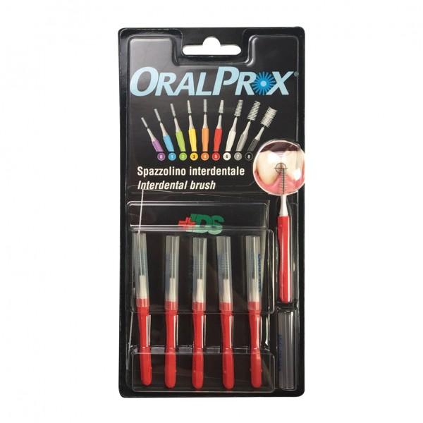 ORALPROX Scovolino 5 Rosso 6 pezzi