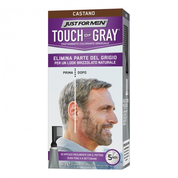 TOUCH of GRAY Tratt.Col.Cast.