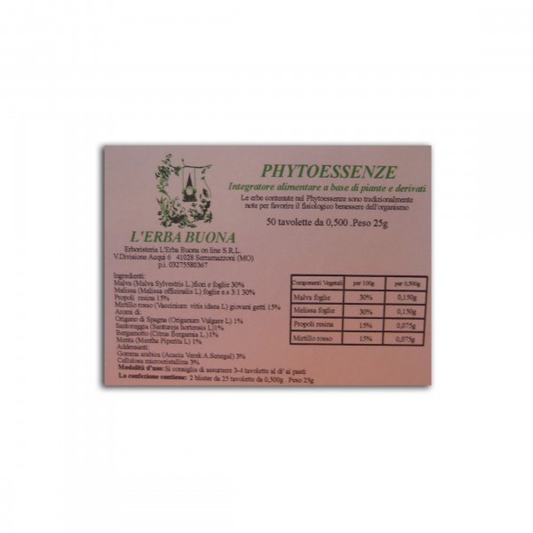 PHYTOESSENZE 50 Cps