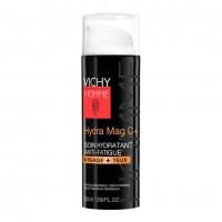 Vichy Homme Hydra Mag C+ Trattamento Idratante Anti-Fatica Viso e Occhi 50 ml