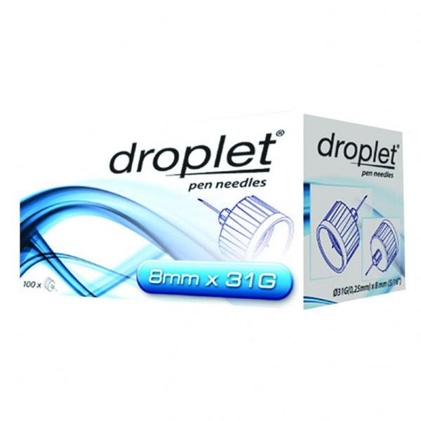 DROPLET Ago Penna 31g 8mm100pz