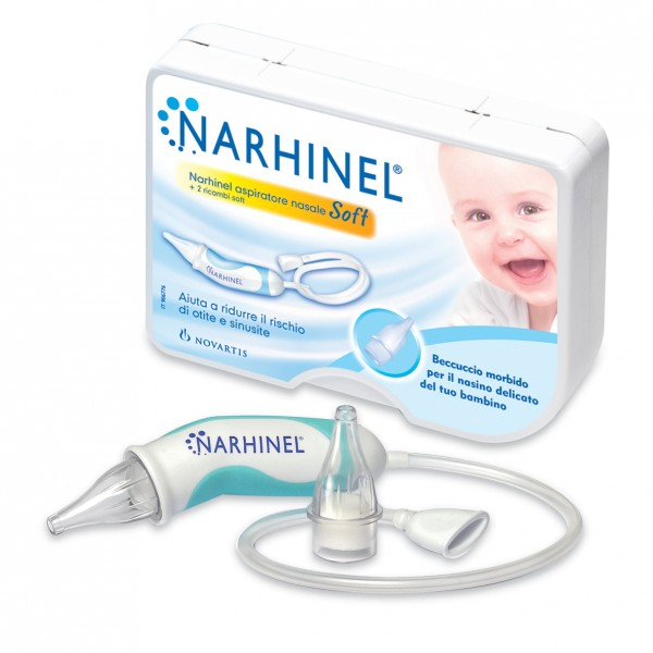 Narhinel Aspiratore Nasale + 2 ricambi