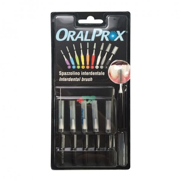 ORALPROX Scovolino 8 Nero 6 pezzi