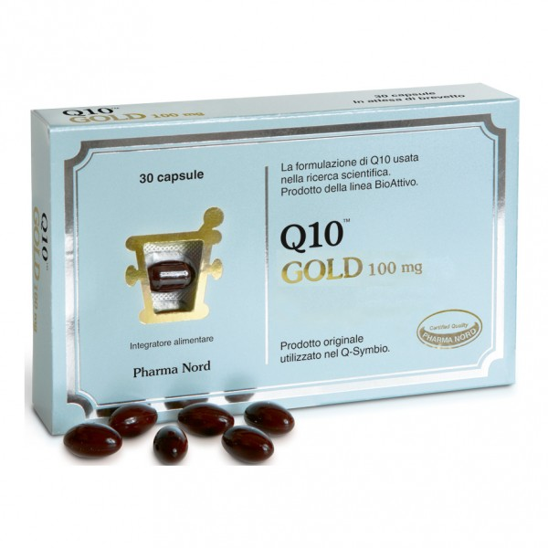 Q10 GOLD 100mg 30 Cps
