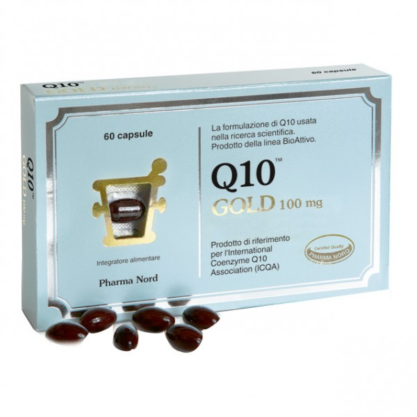 Q10 GOLD 100mg 60 Cps