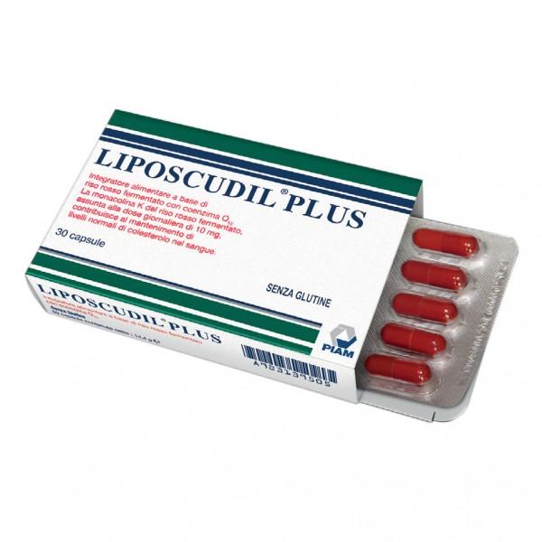 LIPOSCUDIL PLUS - Integratore per il controllo del colesterolo - 30 capsule