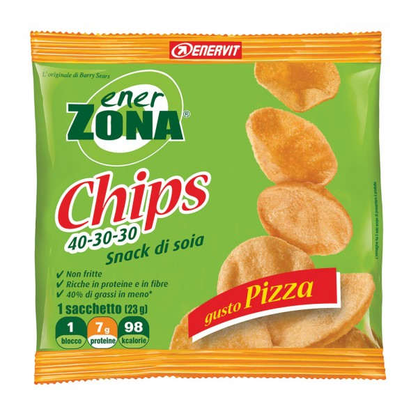 ENERZONA Chips Pizza 1 Sacch.