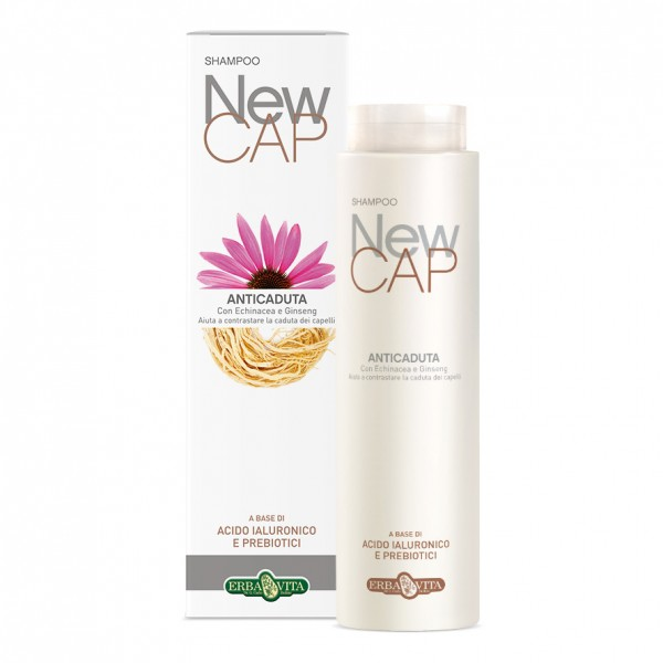 NEWCAP Shampoo Anticaduta Capelli 200 ml ErbaVita