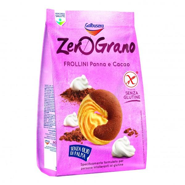 ZEROGRANO Frollini Panna/Cacao