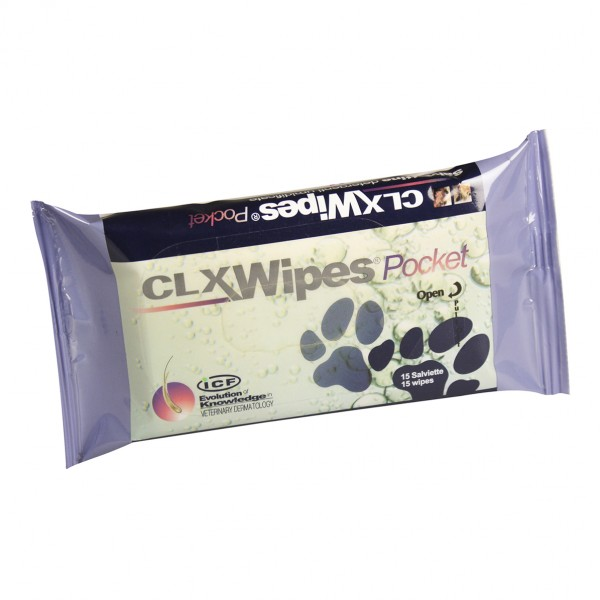 CLOREXYDERM Wipes Pocket 15pz